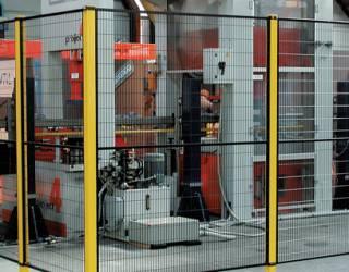 sistema di recinzione macchinario